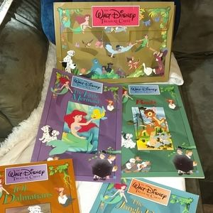 Other - Disney collectible Treasure Chest books